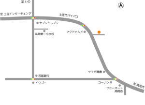 高知県土佐市分譲地地図