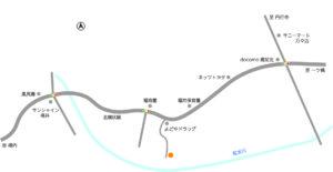 高知市福井町分譲地地図